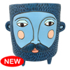 D 1938 Hairy JACK blue planter