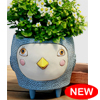 D 1946 HELLO BIRDIE blue planter