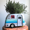 D 1836  HAPPY CAMPER planter