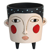 D 1887 POLLY black planter