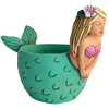 D 1895 MERMAID planter