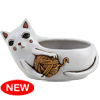 DB 2064 Baby White CAT with yarn planter