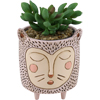 DB 2074 Baby  PURRS Cat planter