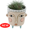 DB 2077 Baby POLLY blue planter