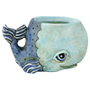 DB 2079  BABY WHALE planter