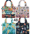 FB set 48   Foldable shopper bags