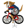 P 2025 Bicycle Dog