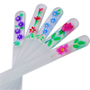 Glass nail files P.14 . 1-10 with FLOWERS
