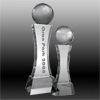 Tall World Globe Trophy